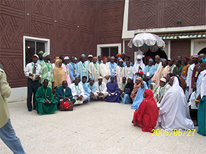 During the visit to emir of kano